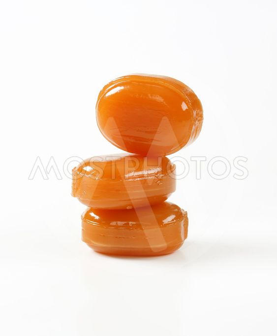 hard caramel candies