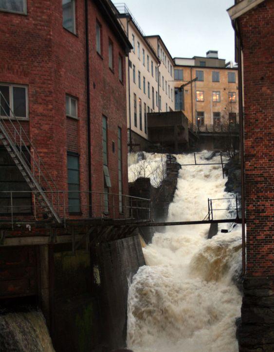 Floden i Mölndal