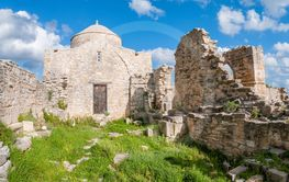 Medieval Monastery of Timiou Stavrou. Limassol District....