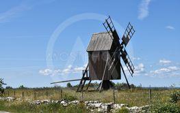 Väderkvarn, symbol för solens och vindarnas ö Öland