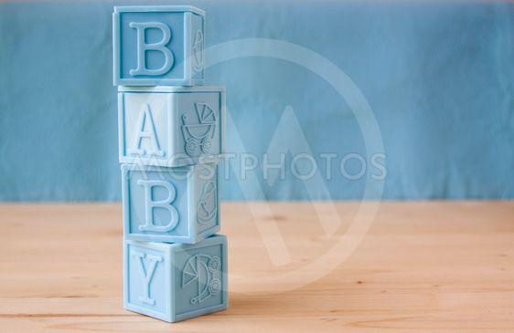 Blue Baby Blocks