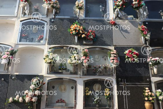 Cemetery in Spain