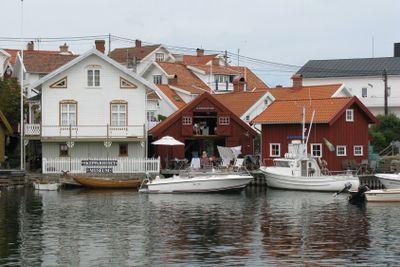Skepparhuset museum på Gullholmen