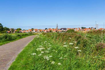 Townscape Hindeloopen Netherlands