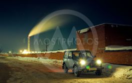 Soviet and Russian SUV Lada Niva
