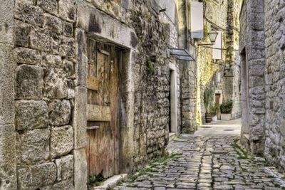 Medieval alley.