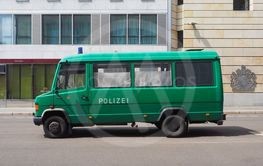 Polizei (Police) car in Berlin
