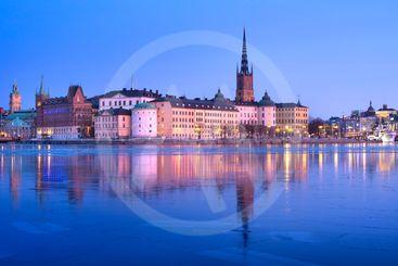 Riddarfjärden in the center of Stockholm, Sweden, Europe
