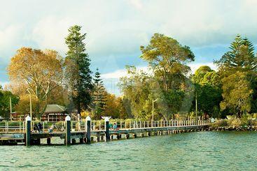 Waterfront  Landscape. Speers Point, Australia.
