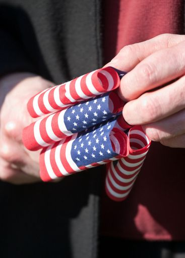 Flags and Hands