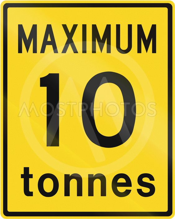 Maximum 10 Tonnes In Canada