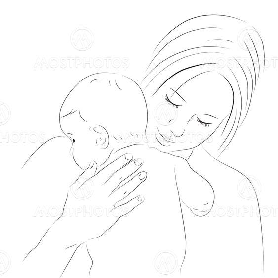 поэтапно руками рисунки матери своими день на