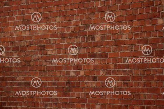 En tegel vägg