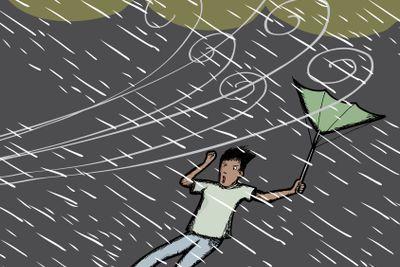 Caught in Rain