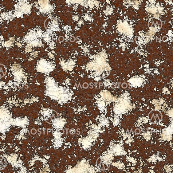Severe rust texture