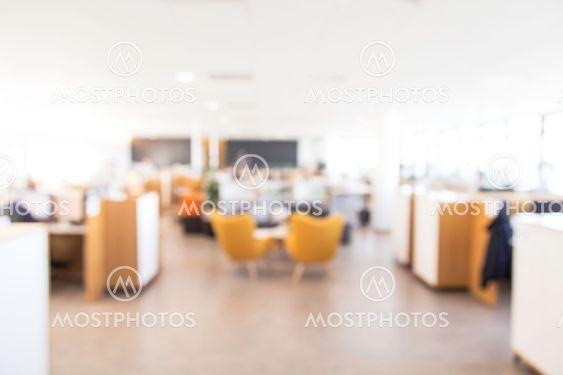 """Blurry office background"" by Johann Helgason - Mostphotos"