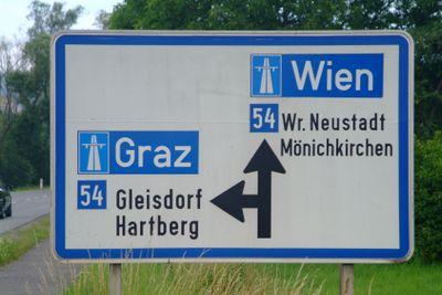 Verkehrsschild  Autobahnauffahrt | traffic sign slip road