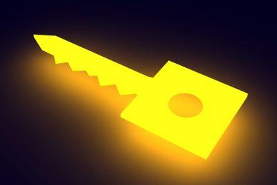 Glowing Key