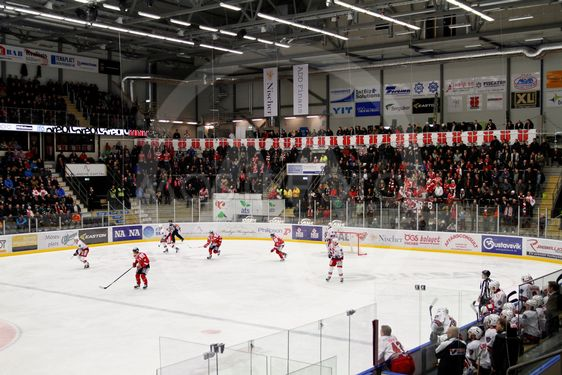 Behrn Arena in Örebro Hockey game in progress