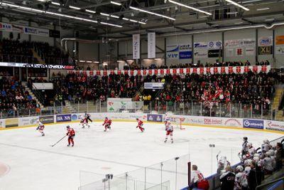 Behrn Arena Örebro Hockey match pågår