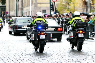 Police escorte
