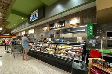 The deli counter of a Publix grocery store