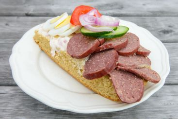 Open sandwich, Torsång, Dalarna, Sweden
