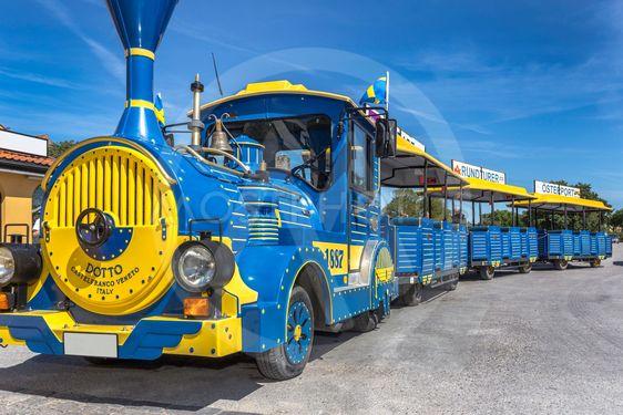 Tåg i Visby