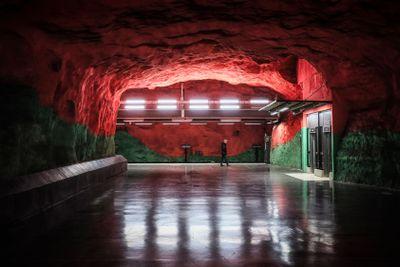 Solna Subway Station, Stockholm