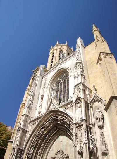 cathedral Saint-Sauveur d'Aix in Aix-en-Provence