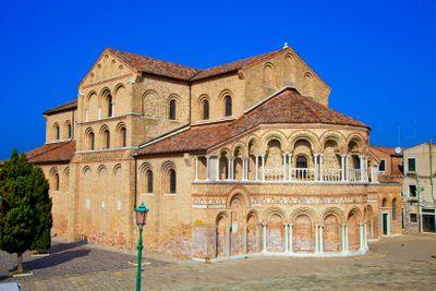 italie, venise : murano, église ss maria donato