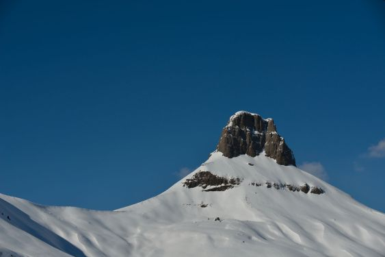 mountain winter nature