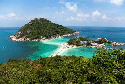 Koh Nangyuan island in Thailand