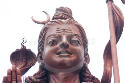 Statue of Hindu God Shiva
