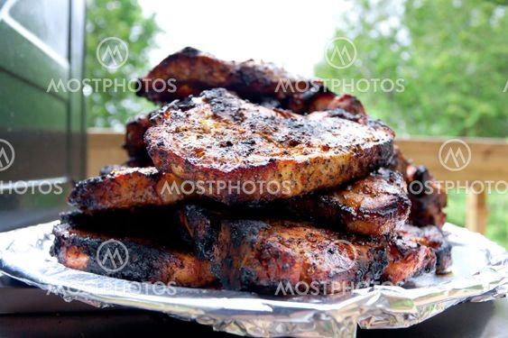 Svinekød steaks