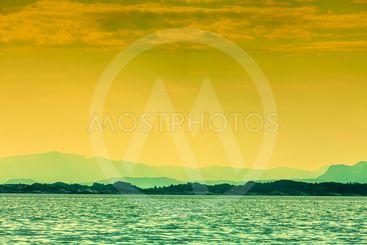 water and islands around bergen