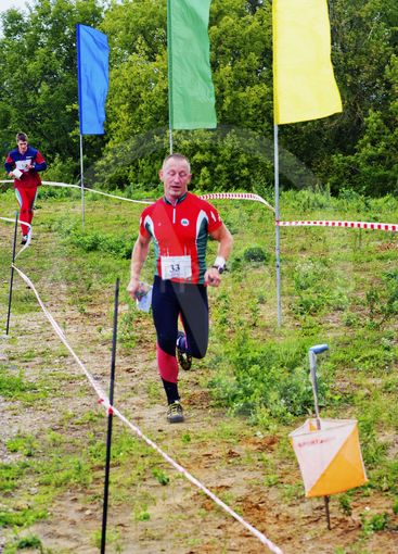 On finish orienteering competition