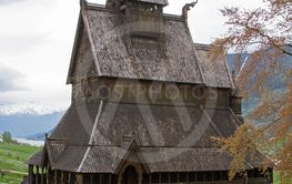 stave church Hopperstad
