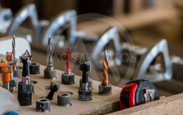 Furniture production. Woodworking equipment, raw...
