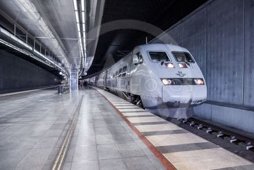 SJ X2000-tåg på Malmö centralstation
