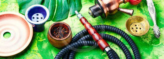 Arabia shisha with tobacco