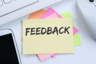 Feedback contact customer service opinion survey...