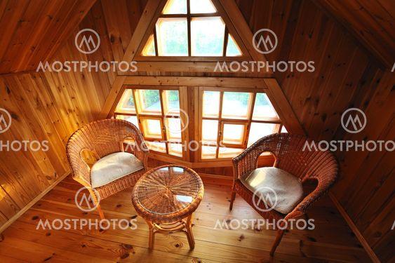 Træ interiør