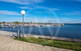View to the port of Rerik, Germany