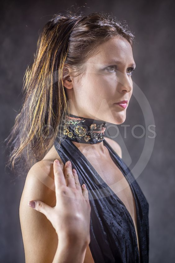 fashion female portrait