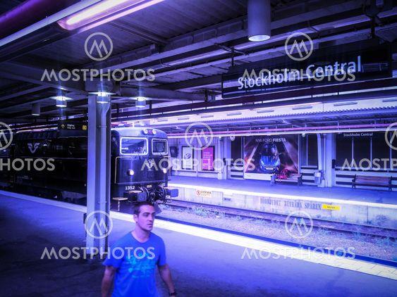 På Stockholm C