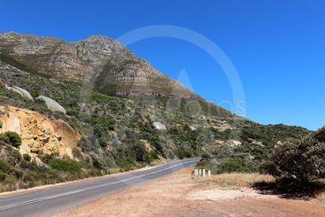 Vackert landskap i Sydafrika