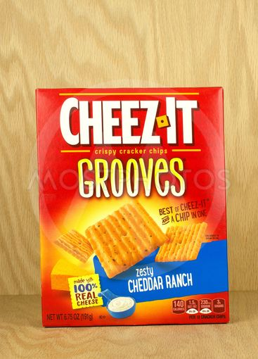 Cheezit Grooves box.
