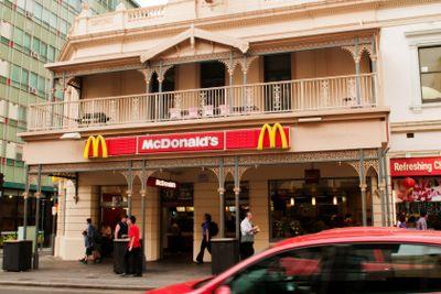 Hindley Street McDonalds