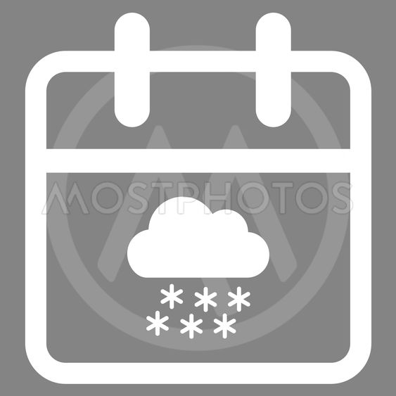 Snow Date Icon